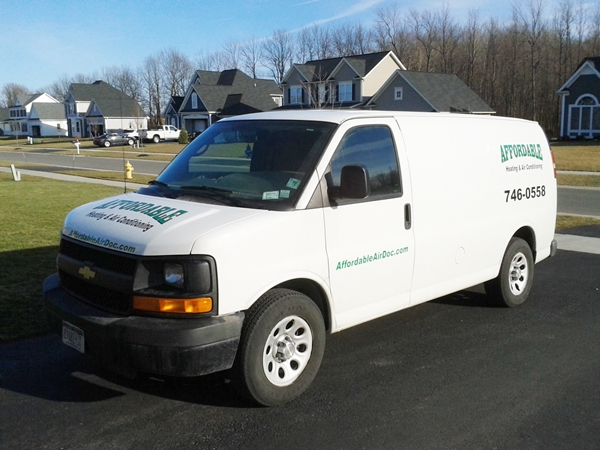 Affordable H&AC Van
